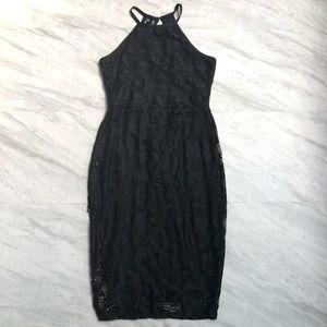 bar III Lace Bodycon Dress Medium